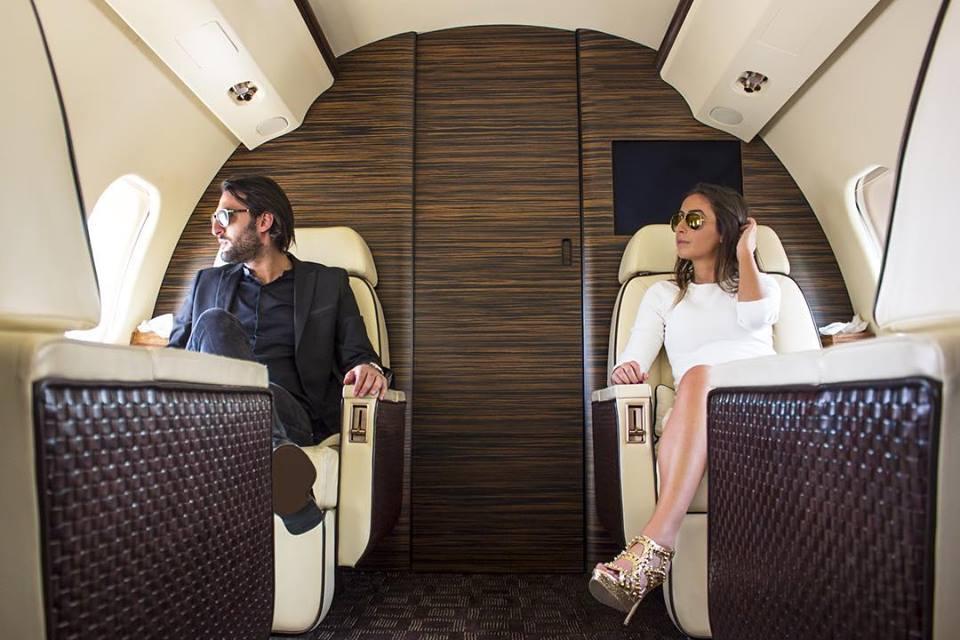 Аренда частного самолета в СПб от DALEX-VIP