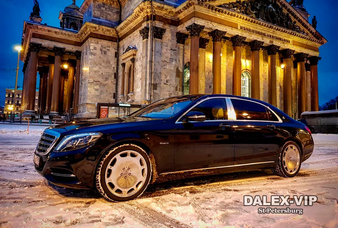 Mercedes-Maybach S-Class W222 2017 Rent A Car with Driver Saint-Petersburg
