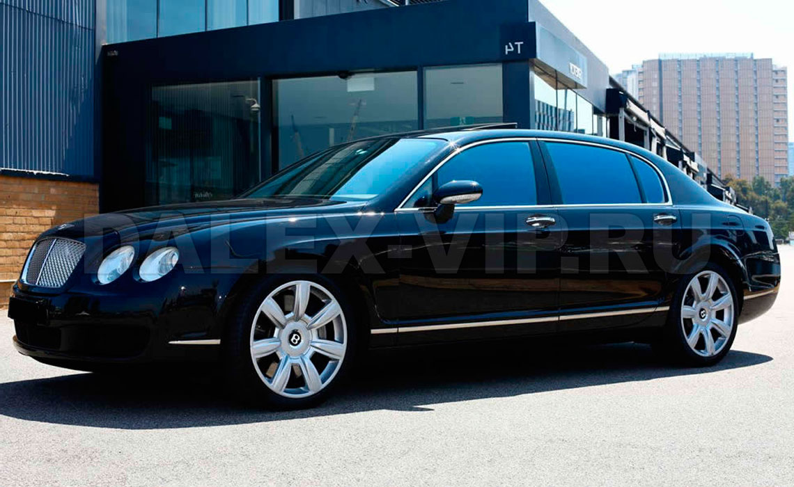 Аренда Bentley Continental Flying Spur Speed в Санкт-Петербурге СПб от DALEX-VIP