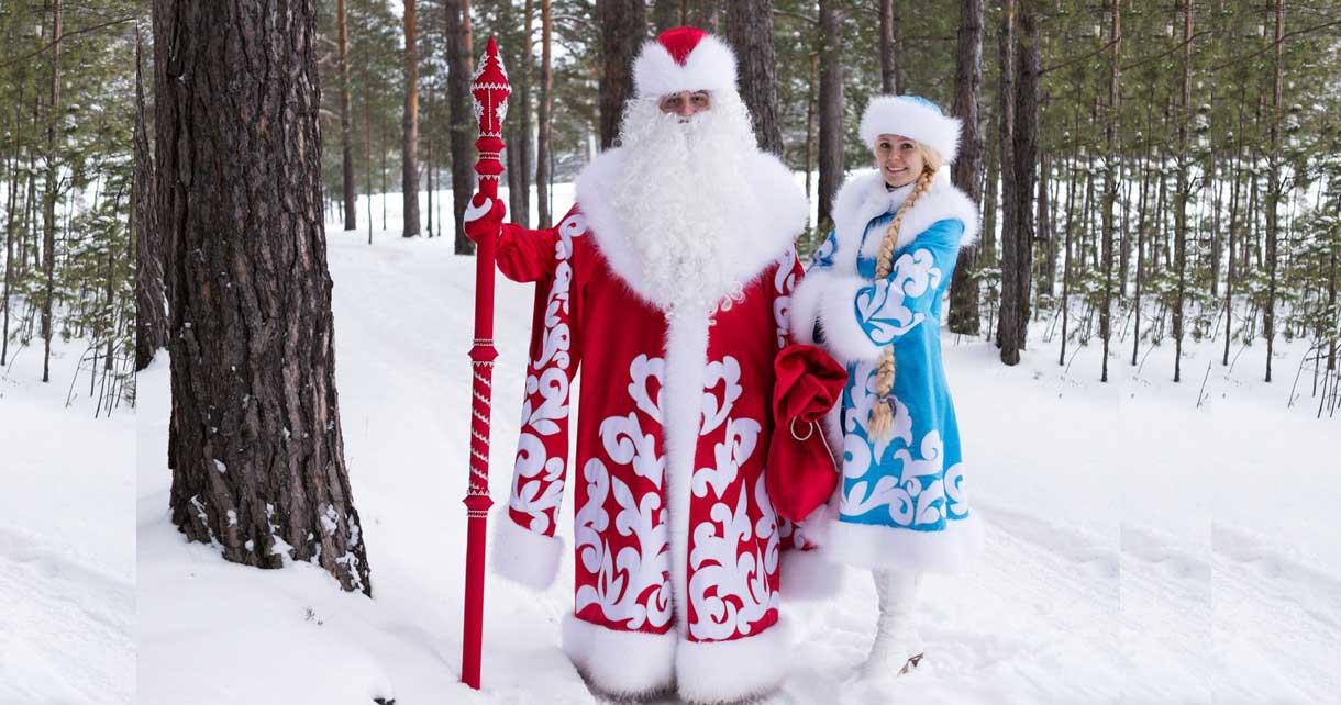Дед мороз и Снегурочка на Новый год 2017 СПб