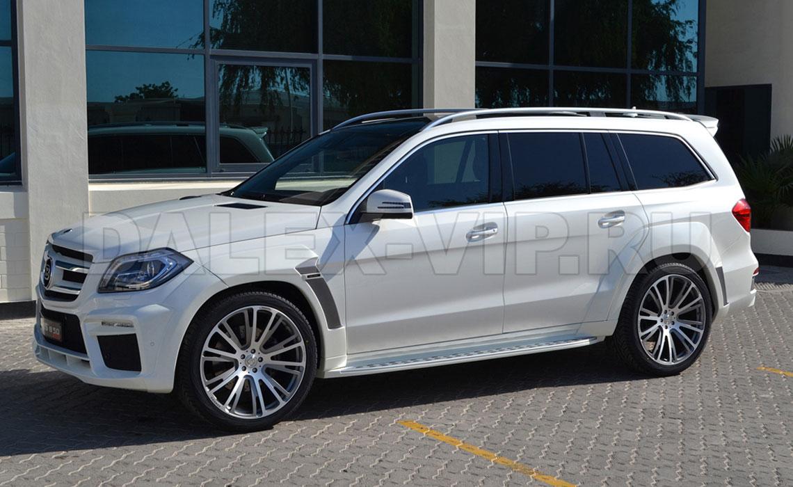 Аренда Mercedes GL Class на свадьбу - белый цвет СПб