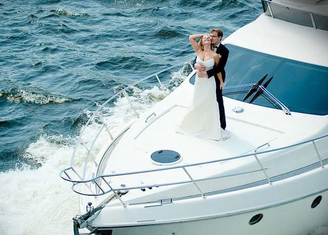 Аренда кораблика на свадьбу спб
