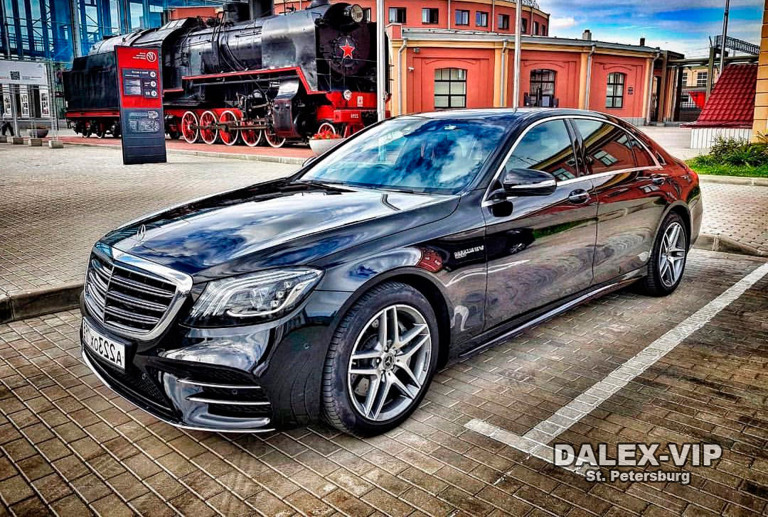 Mercedes Е-Class W222 Rent A Car with Driver in Saint-Petersburg