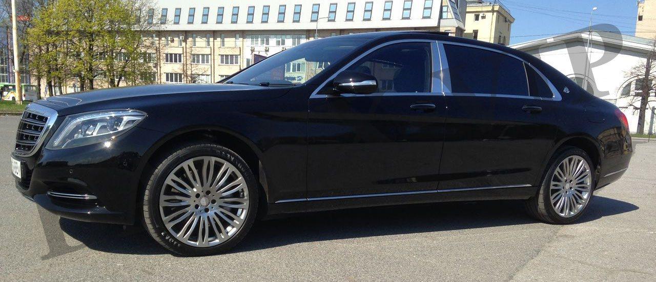 Аренда Мерседес Майбах S600 2016 с водителем в Санкт-Петербурге (СПб)