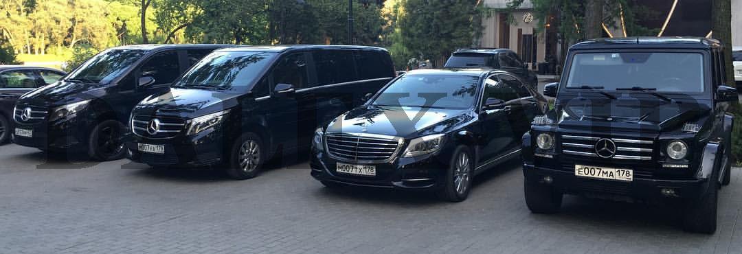 ВИП такси из Санкт-Петербурга в Москву