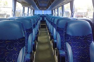 Аренда экскурсионного автобуса в Санкт-Петербурге - салон
