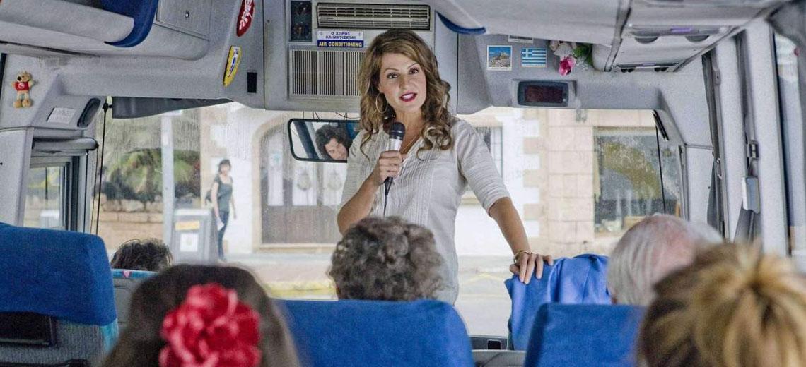 Аренда автобуса для экскурсии с экскурсоводом, гидом