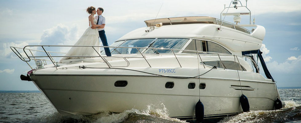 Аренда яхты спб на свадьбу