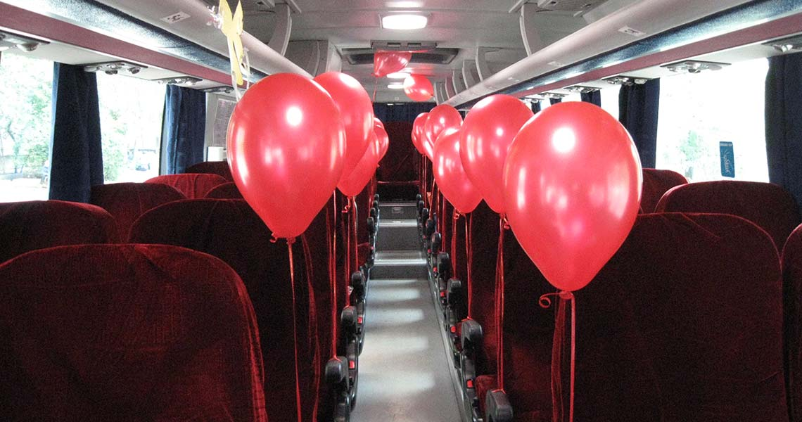 Заказ свадебного автобуса в Санкт-Петербурге СПб