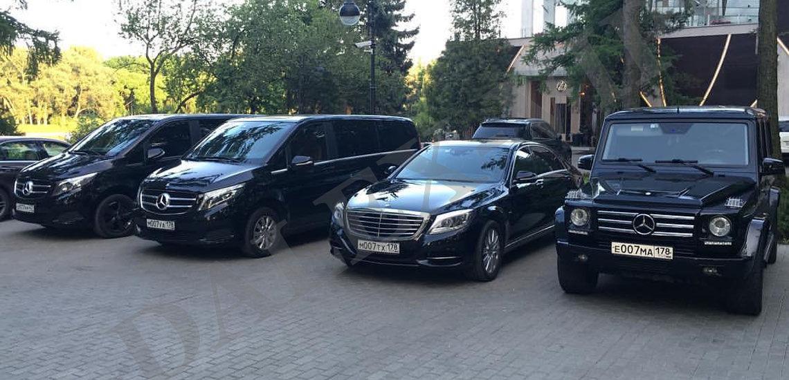Такси Мерседес для ВИП в СПб