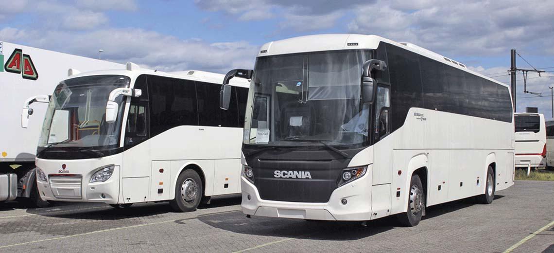 Экскурсионные автобусы - аренда, прокат в СПб - Dalex-Vip