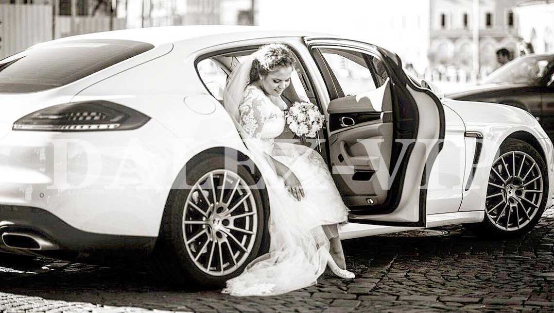 Porsche Panamera Ren A Car for a wedding