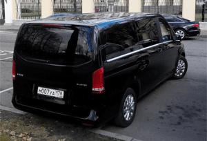 ВИП такси СПб - микроавтобус