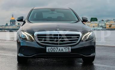 Mercedes-Benz E-Class W213 2016 Car Rental in St Petersburg Russia