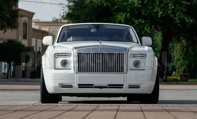 Rolls-Royce Phantom Rent A Car with driver in St Petersburg by DALEX-VIP