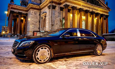 Mercedes-Maybach S-Class S500 Rent A Car with driver in St Petersburg Russia