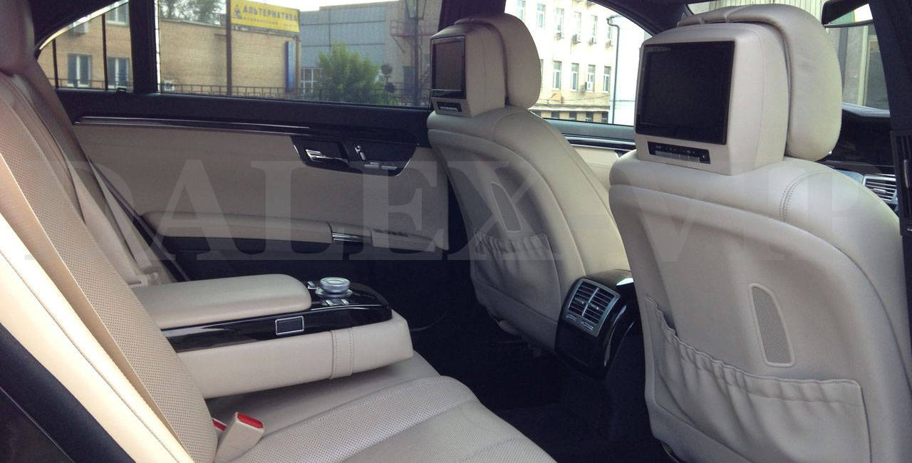 Mercedes S-Class W221 For A Wedding