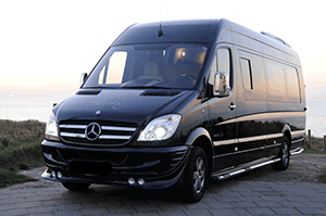 Аренда Mercedes Sprinter Black в Санкт-Петербурге