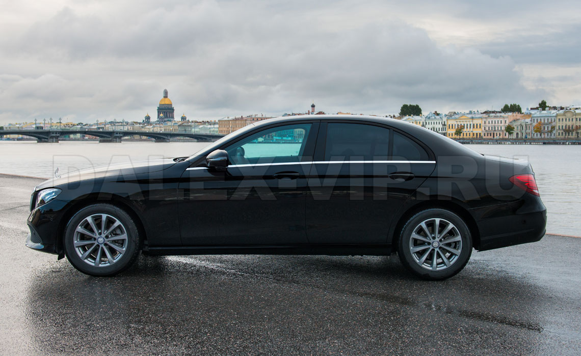 Mercedes Е-Class W213 Rent A Car Saint-Petersburg