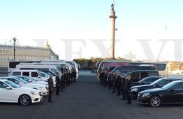 Автопарк элитных автомобилей, микроавтобусов, автобусов компании DALEX-VIP