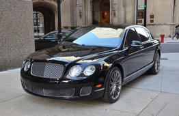 Аренда Bentley Continental Flying Spur с водителем в Санкт-Петербурге