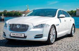 Аренда Jaguar XJ Premium Long, XF Brilliant с водителем в Санкт-Петербурге