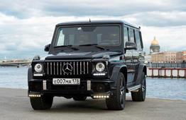 Аренда Гелендвагена - Мерседес G-Class G55, G63 с водителем в СПб