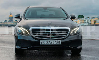 Mercedes-Benz E-Class W213 2016 Car Rental in St Petersburg Russia