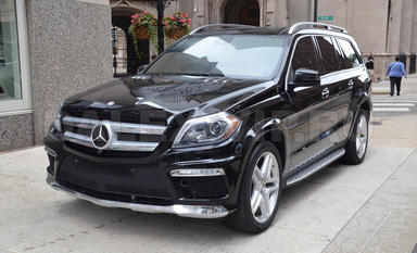 Mercedes-Benz GL-Class Rent A Car with driver in St Petersburg