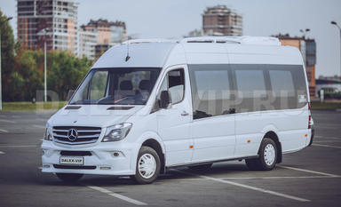 Mercedes-Benz Sprinter Mimibus Rental in St Petersburg by DALEX-VIP